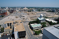 1997 May 06..Redevelopment..Macarthur Center.Downtown North (R-8)..LOOKING NORTH.FROM MAIN STREET TOWER.SUPERWIDE...NEG#.NRHA#..