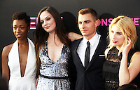 NEW YORK, NY-July 12: Samira Wiley, Emily Meade, Dave Franco, Emma Roberts, at Lionsgate presents the World Premiere of NERVE   at SVA Theater in New York. NY July 12, 2016. Credit:RW/MediaPunch