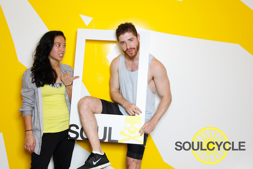 soulcycle SOMA grand opening! saturday