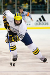 NCAA HOCKEY: MAR 13 Western Michigan at Michigan. David Wohlberg (25) Michigan defeated Western Michigan 5-2