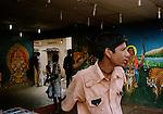 At a photo studio in Erumeli, Kerala