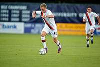 Manchester City's John Guidetti during a match at Merlo Field in Portland Oregon on July 17, 2010.