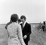Beatles 1967 Ringo Starr during Magical Mystery Tour.© Chris Walter.