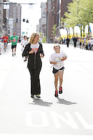 PITTSBURGH, PA - MAY 4: The Pittsburgh Marathon- Kids Marathon race takes place on May 4, 2013 in Pittsburgh, Pennsylvania.