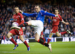 Kris Boyd goes close with a first half volley