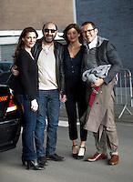 """Dany Boon, Kad Merad, Alice Pol et Judith El Zein font la promo de """" Supercondriaque """" - Belgique"""