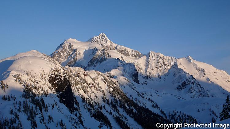 Mount Shuksan in the North Cascades, Washington.