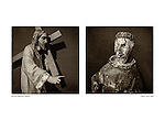 Diptych, <br /> San Juan Capistrano by Larry Angier.