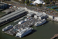 aerial photograph Pier 3 San Francisco, California