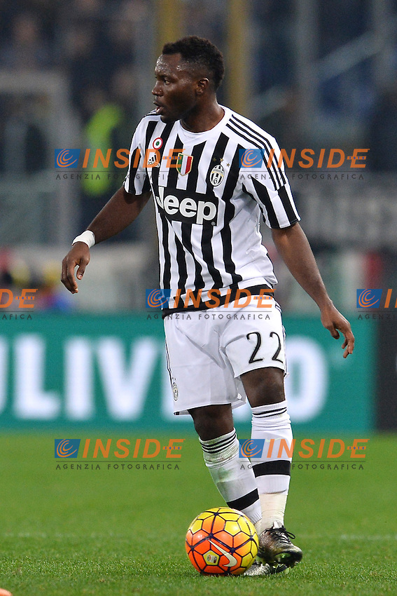 Kwadwo Asamoah Juventus.<br /> Roma 4-12-2015 Stadio Olimpico, Football Calcio 2015/2016 Serie A Lazio - Juventus. Foto Antonietta Baldassarre / Insidefoto