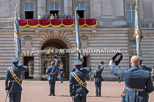 10.07.2015: THE QUEEN, PRINCES PHILIP, ANDREW, EDWARD, WILLIAM &amp; SOPHIE<br />