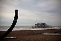 Study of Brighton's Piers. Day long project studying the piers from different angles. <br /> Brighton, United Kingdom - 2012