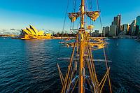 Sailing in Sydney Harbor