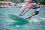 BrazilRS:XWomenHelmBRAMC28Maria CarolinaCruz<br /> Day1, 2015 Youth Sailing World Championships,<br /> Langkawi, Malaysia