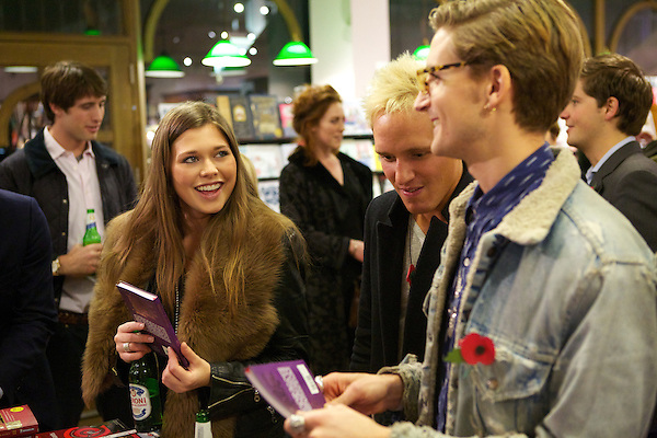 Rebecca Hoffnung, Jamie Laing and Oliver Proudlock