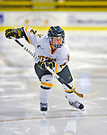 8 November 2008: University of Vermont Catamount forward Chelsea Rapin, a Freshman from Walled Lake, MI, in action against the Wayne State Warriors at Gutterson Fieldhouse, in Burlington, Vermont. The Catamounts were shut out by the Warriors 7-0...Mandatory Photo Credit: Ed Wolfstein Photo