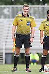 30 August 2015: Assistant Referee Hudson Owens. The Duke University Blue Devils hosted the DePaul University Blue Demons at Koskinen Stadium in Durham, NC in a 2015 NCAA Division I Men's Soccer match.