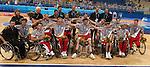 Le Canada gagne la médaille d'or en basketball aux jeux paralympiques d'athènes. (Jean-Baptiste Benavent 28 septembre).