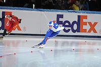 SPEED SKATING: STAVANGER: Sørmarka Arena, 31-01-2016, ISU World Cup, 1000m Ladies Division A, Olga Fatkulina (RUS), ©photo Martin de Jong