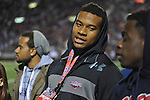 Prospect Robert Nkemdiche, brother of Ole Miss linebacker Denzel Nkemdiche (4), attends the Ole Miss vs. Vanderbilt at Vaught-Hemingway Stadium in Oxford, Miss. on Saturday, November 10, 2012.
