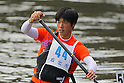 Ryo Naganuma, .MARCH 28, 2012 - Canoeing : .2012 International Canoeing Competitions Selection Trial & The 22th Fuchuko Canoe Regatta, .Men's Junior Canadian canoe Single 200m at Lake Fuchu, Kagawa Japan. (Photo by Akihiro Sugimoto/AFLO SPORT) [1080]