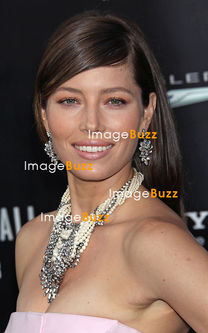 """Jessica Biel at the """" Total Recall """" movie premiere in Hollywood..Los Angeles, August 1, 2012."""