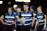Laurence May of Bath United looks on during a break in play. Aviva A-League match, between Bath United and Wasps A on December 28, 2016 at the Recreation Ground in Bath, England. Photo by: Patrick Khachfe / Onside Images