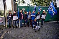 Canili di Roma animalisti in presidio contro la nuova gestione
