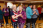 Enjoying the Sliabh Luachra Active Retired  tea dance at the River Island Hotel on Sunday were l-r Margaret Murphy  Bernie Conway, Nellie Daly and Joan Kerins