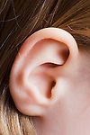 Girl's ear