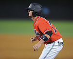 Mississippi's Jordan King (17) pinch runs vs. St. John's during an NCAA Regional at Davenport Field in Charlottesville, Va. on Friday, June 4, 2010.