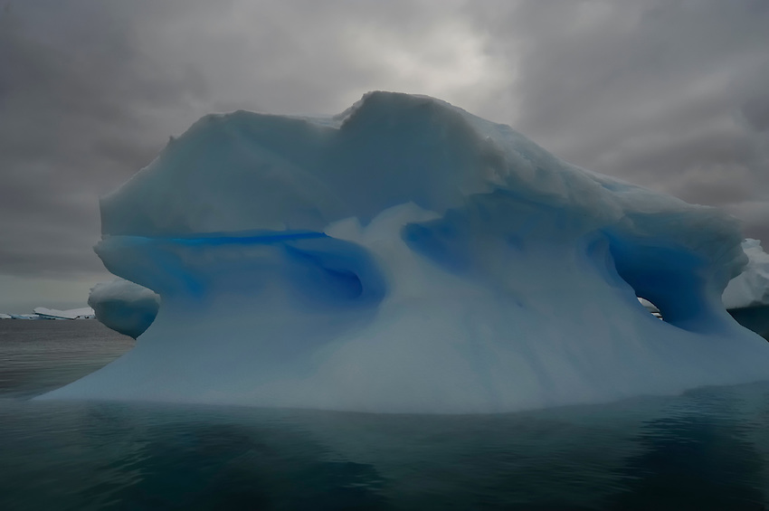 Blue Holes - Fantastical ice at Planeau Island