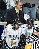 Cary Eades, TJ Oshie, Jordan Parise, ? - The University of Minnesota Golden Gophers defeated the University of North Dakota Fighting Sioux 4-3 on Saturday, December 10, 2005 completing a weekend sweep of the Fighting Sioux at the Ralph Engelstad Arena in Grand Forks, North Dakota.