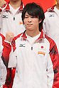 Kohei Uchimura (JPN), September 12, 2011 - Artistic Gymnastics : Kohei Uchimura attend press conference in Tokyo, Japan, regarding the Artistic Gymnastics World Championships 2011 Tokyo. (Photo by Yusuke Nakanishi/AFLO SPORT) [1090]