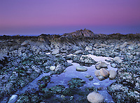 Great Tidepool at Sunset - Pacific Grove, California