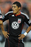 DC United midfielder Andy Najar (14)   FC Dallas defeated DC United 3-1 at RFK Stadium, Saturday August 14, 2010.