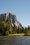 El Capitan, Merced River, Yosemite National Park, California, USA.  Photo copyright Lee Foster.  Photo # california121256