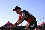 Rohan Dennis (AUS) BMC Racing Team at the Team Presentation in Alghero, Sardinia for the 100th edition of the Giro d'Italia 2017, Sardinia, Italy. 4th May 2017.<br /> Picture: Eoin Clarke | Cyclefile<br /> <br /> <br /> All photos usage must carry mandatory copyright credit (&copy; Cyclefile | Eoin Clarke)
