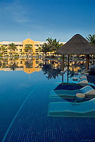Barceló's newest project, the all-inclusive Barceló Maya Beach Resort on Mexico's Yucatan Peninsula opened in 2007 with five hotels, 24 restaurants, and 19 bars..