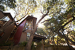 "Richard and Kay Johnson's ""treehouse"""