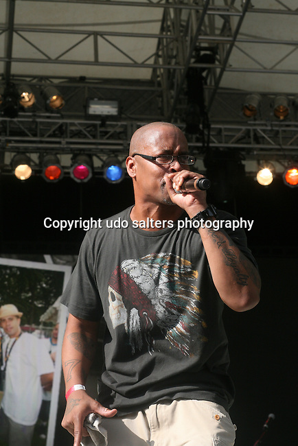 Brand Nubians (Sadat X) Perform at Rock Steady Crew 36th Year Anniversary Celebration at Central Park's SummerStage, NY