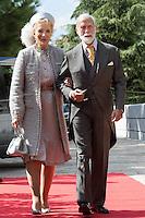 Royal wedding of HRH Crown Prince Leka II of Albania & Elia Zaharia _ Luncheon guests - Albania