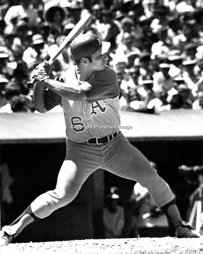 Oakland Athletics third baseman and Captain Sal Bando<br />