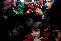 Thousands of Syrian refugees try to escape Libya at the port in Benghazi. Syria has sent ships to pick up their citizens, but there's only room for 1000 in each. Today they sent three ships and tomorrow there will be more. The Syrian government promises that all Syrians will be evacuated. On 17 February 2011 Libya saw the beginnings of a revolution against the 41 year regime of Col Muammar Gaddafi.