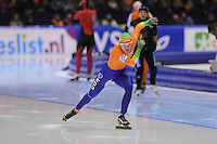 SCHAATSEN: HEERENVEEN: IJsstadion Thialf, 17-11-2012, Essent ISU World Cup, Season 2012-2013, Ladies 2nd 500 meter Division A, Marrit Leenstra (NED), ©foto Martin de Jong