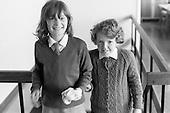 SChool girls, Whitworth Comprehensive School, Whitworth, Lancashire.  1970.