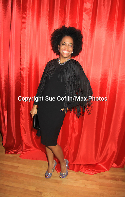 "Another World's Rhonda Ross (event co-host) at Hearts of Gold's 16th Annual Fall Fundraising Gala & Fashion Show ""Come to the Cabaret"", a benefit gala for Hearts of Gold on November 16, 2012 at the Metropolitan Pavilion, New York City, New York.   (Photo by Sue Coflin/Max Photos)"