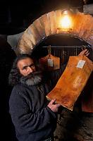 Europe/Suisse/Engadine/Maloja: Chez Renato Giovanoli charcutier et producteur de la viande de grisons [Non destiné à un usage publicitaire - Not intended for an advertising use]