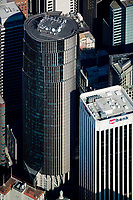 aerial photograph 101 California Street &amp; 100 CA St US Bank San Francisco adjacent office towers