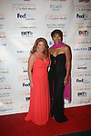 Boardmember Andrea Hoffman and Felicia Daniels of United Airlines Attend the 7th Annual Evidence Gala...A Breath of Spring Hosted by Law & Order Actress Tamara Tunie and Jazz Vocalist Gregory Generet Held at The Grand Ballroom at Manhattan Center, NY  4/12/2011